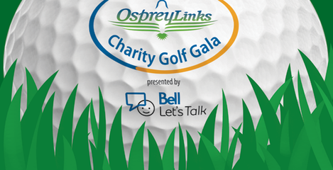 2017 Osprey Links Charity Golf Gala presented by Bell Let's Talk