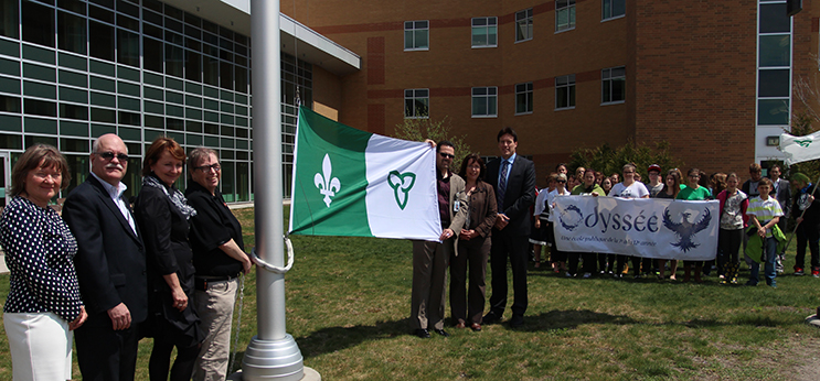 NBRHC Flag Raising Ceremony