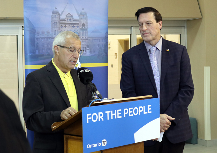 Vic Fedeli and Paul Heinrich